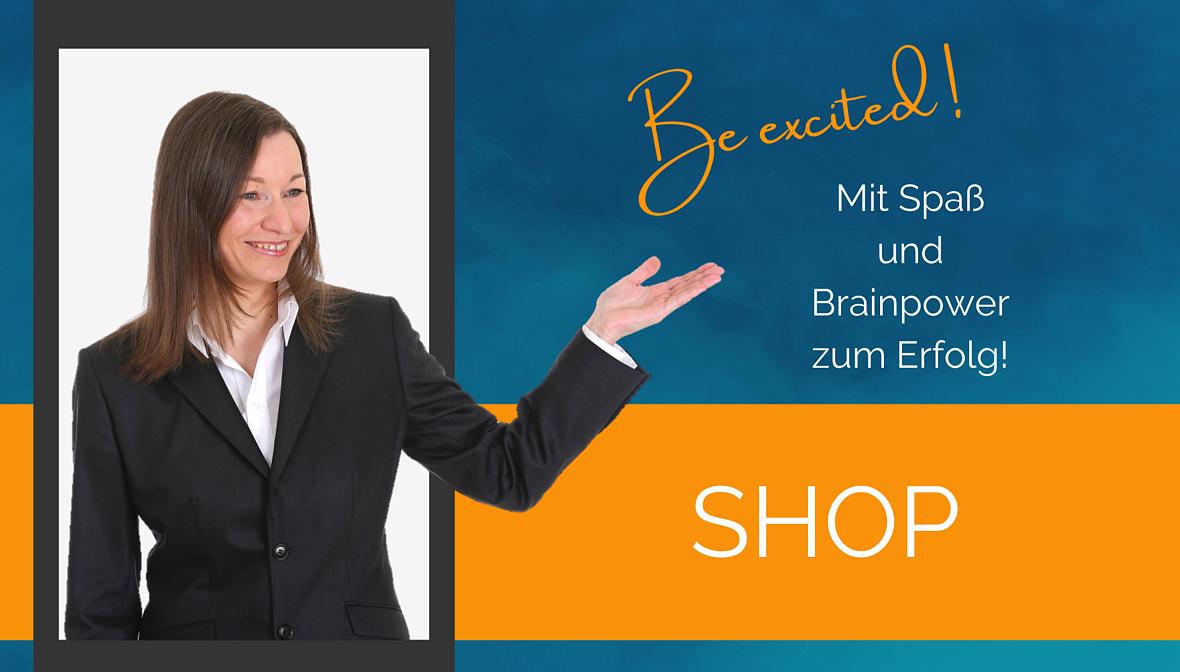 Der Online-Shop von Dr. Elke Präg. Mit Spaß und Brainpower zum Erfolg!