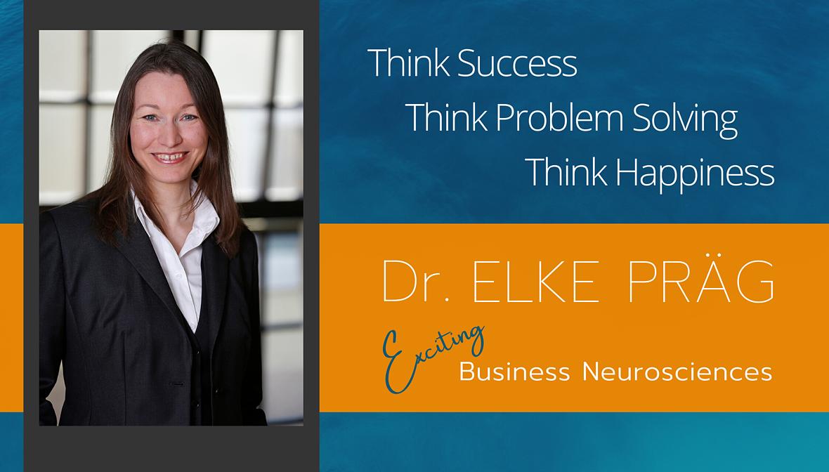 Dr. Elke Präg, Neurowissenschaftlerin, Speaker und Autorin, Impressum