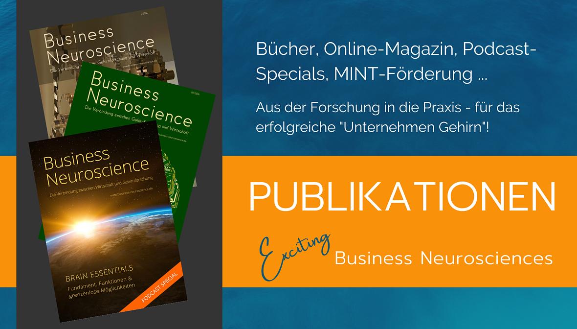 Dr. Elke Präg, Publikationen der Business Neurosciences für Ihren Erfolg im Arbeitsleben.