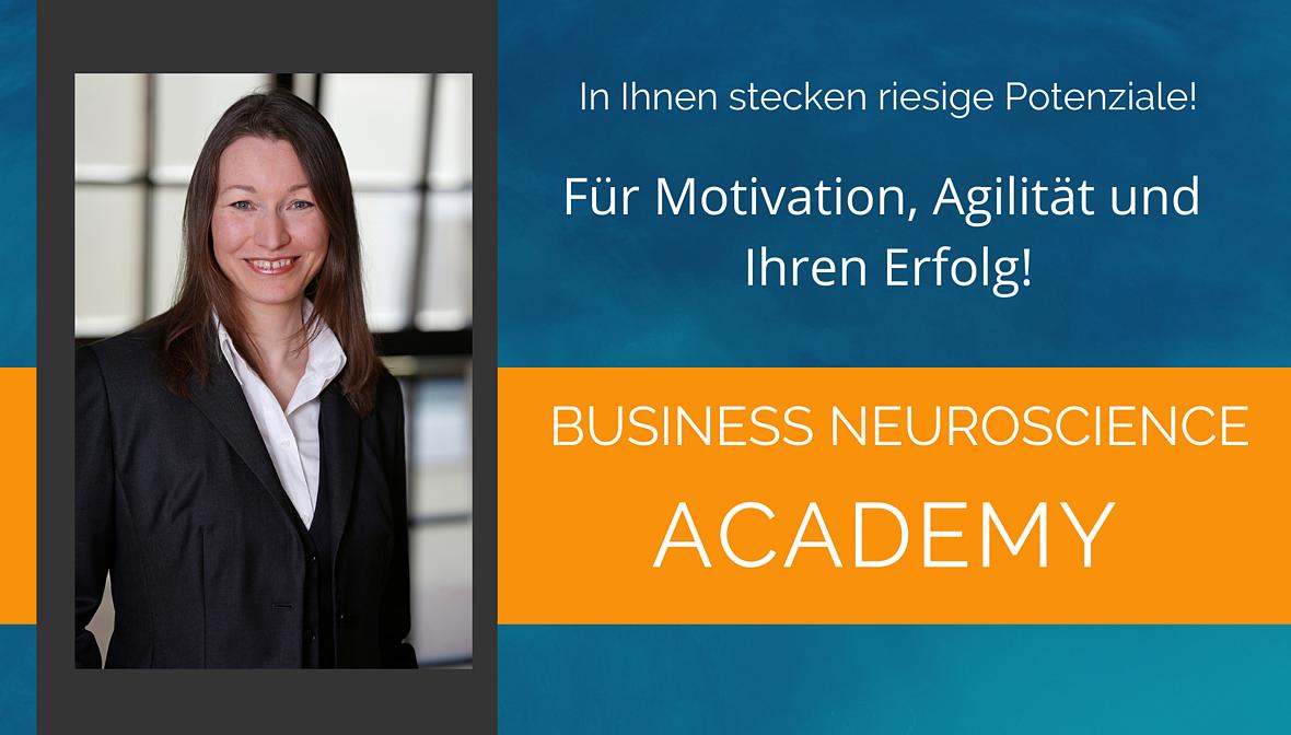 Dr. Elke Präg, Business Neuroscience Academy. Die Programme für Ihren Erfolg im Arbeitsleben.